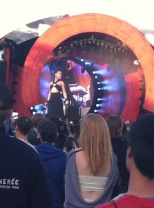 Alicia Keys at Global Citizens HOLLIE SMITH